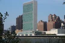 Das UN-Gebäude von Roosevelt Island