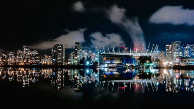 false creek night