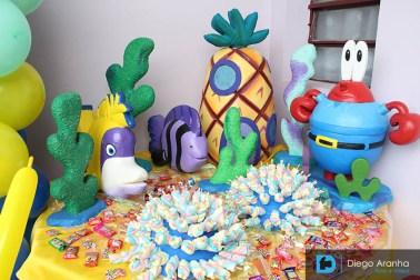 Festa Aniversário Criança - 6 Anos - Bob Esponja