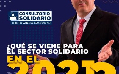Consultorio Solidario 14 de Diciembre | Que se viene para el Sector Solidario en el 2021-Presentación