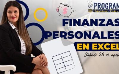 Material PROGRAMA DE EDUCACIÓN FINANCIERA FINANZAS PERSONALES EN EXCEL   28 de Agosto  