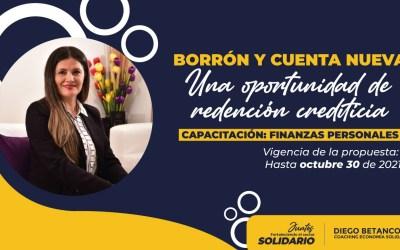 BORRON Y CUENTA NUEVA. Una oportunidad de redención crediticia