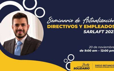 Seminario De Actualización Directivos Y Empleados SARLAFT 2021
