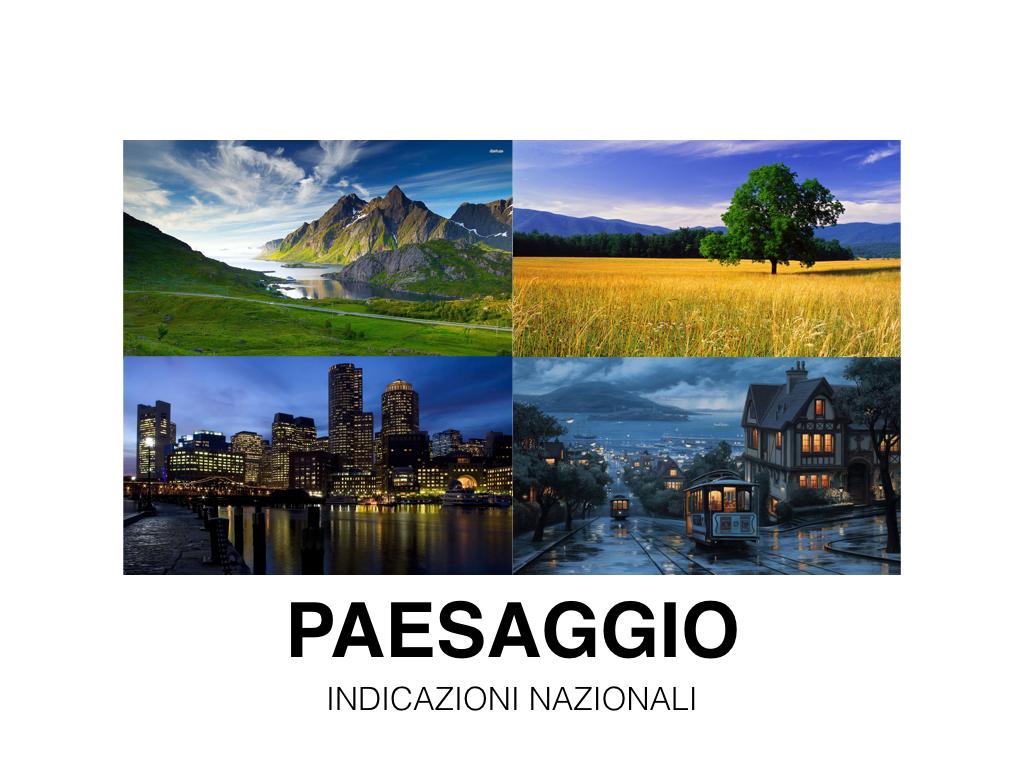 Il paesaggio in geografia  classe seconda  Diegocares Blog