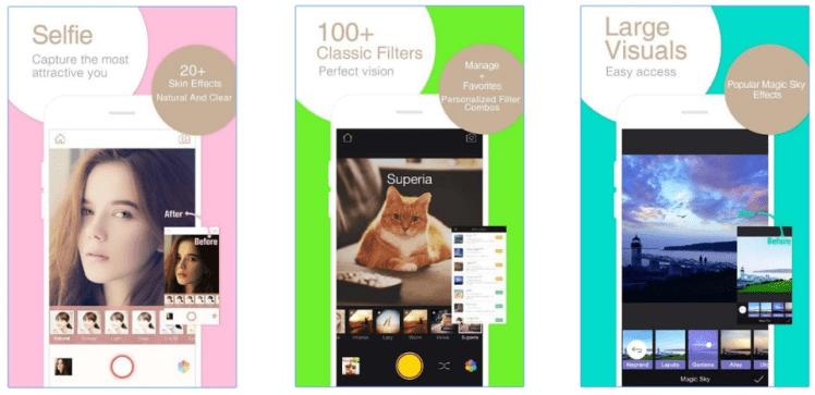 Camara 360 de android aplicaciones para tomar fotografías en android