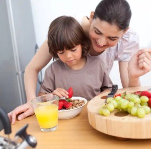 Alimentación adecuada para niños