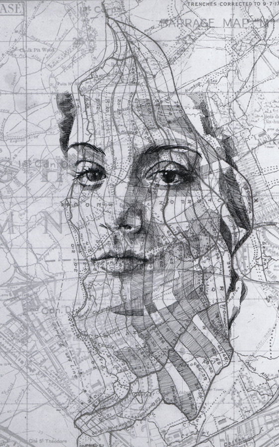 Map portraits by Ed Fairburn  THEE BLOG