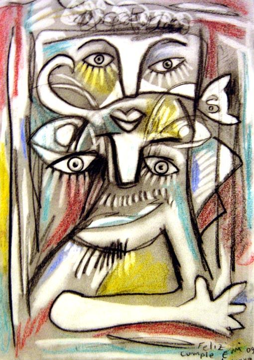 Musa, Gato y Pintor