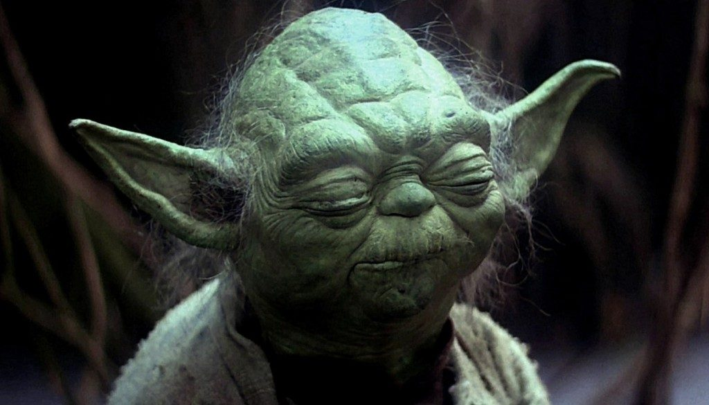 O pragmático Yoda