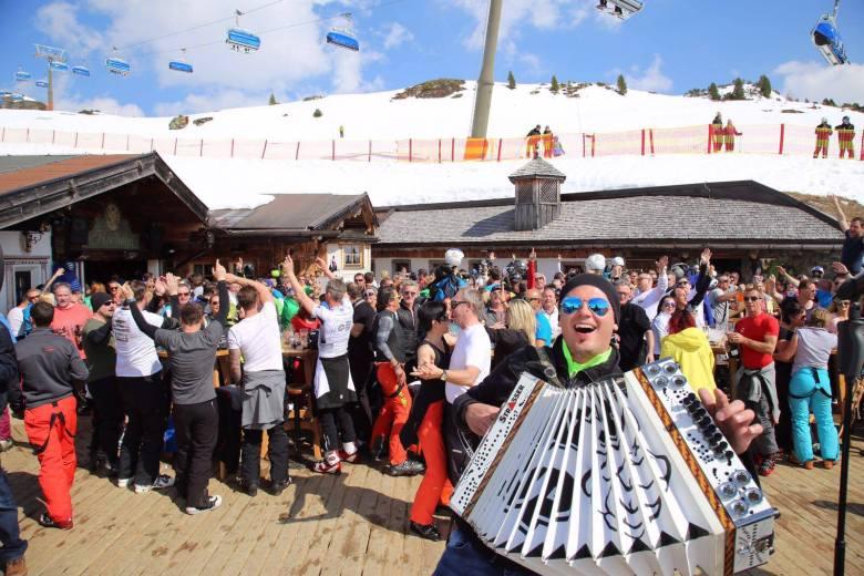 Franky_Leitner_auf_der_Hochalm_beim_Skiopening_in_Obertauern