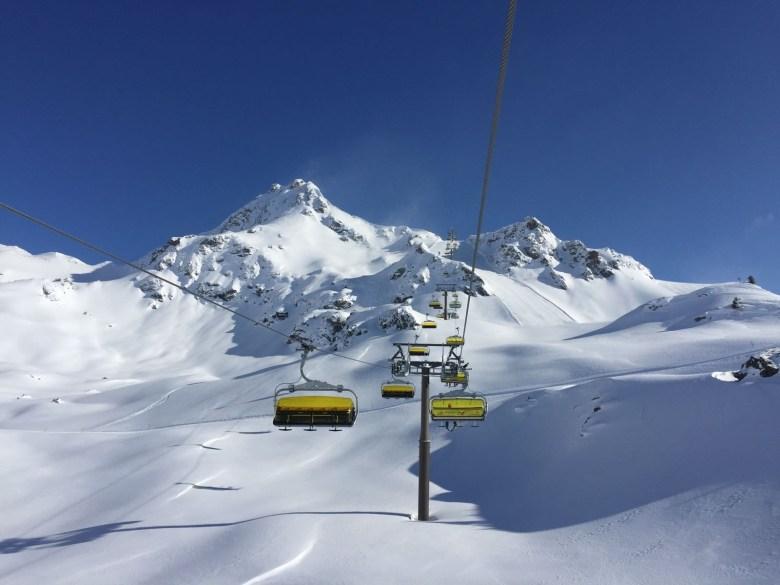 Die Panoramabahn im schneesicheren Obertauern.
