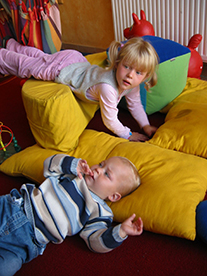 Rasten in der SMARTY Alm der Schischule Mauterndorf