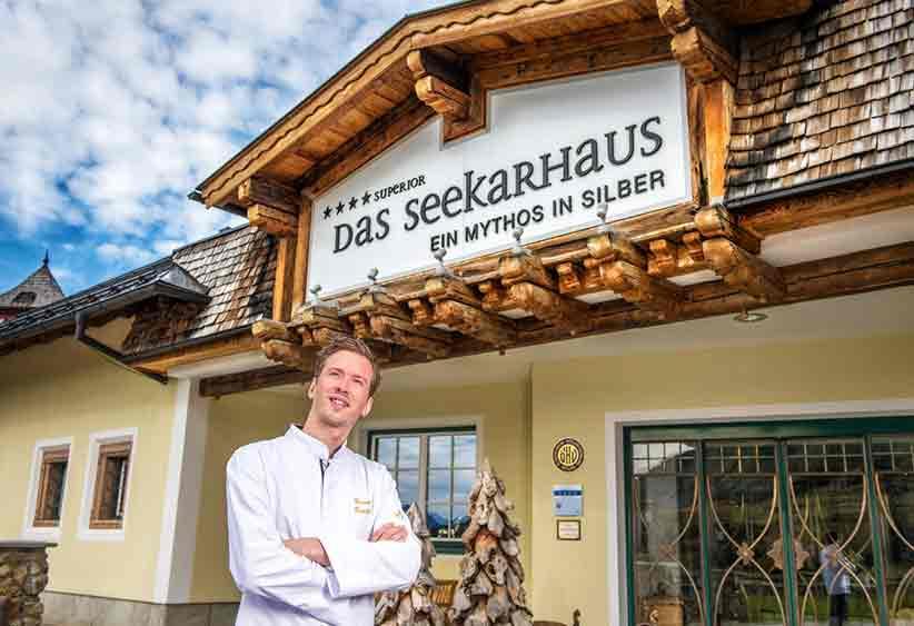 Hotel Das Seekarhaus-Haubenkoch Harald Rindler