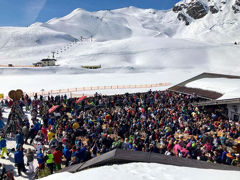 Livekonzerte auf der Hochalm im Obertauern-Skiwinter 2019/20.