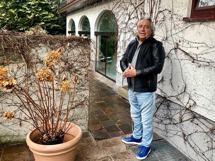 Hermann Pascha bei seinem Besuch in seiner ehemaligen Wahlheimat Salzburg. Foto: Kitzenegger