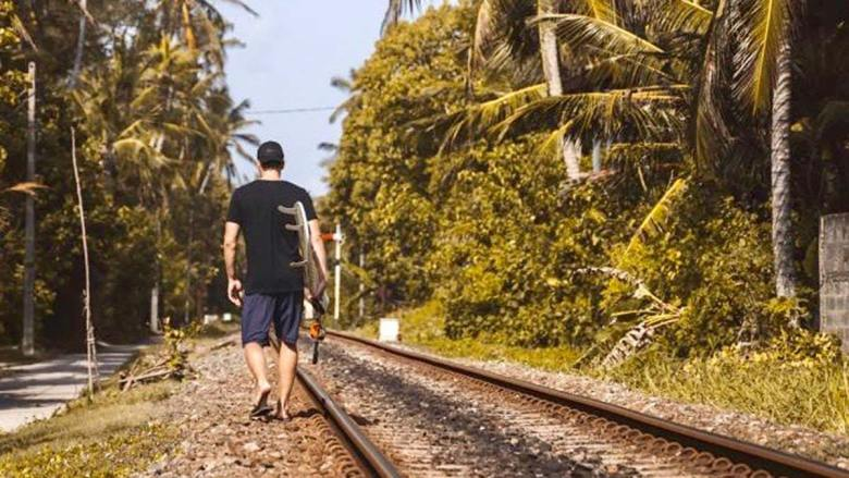 """Sri Lanka gilt vor allem bei jungen Leuten bereits seit geraumer Zeit als """"das neue Bali"""" und ist auch unter Surfern sehr beliebt. Foto: Kitzenegger"""