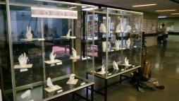 Ausstellung von Handskulpturen