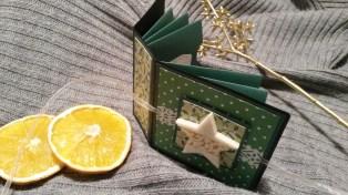 Teebeutelbuch zu Weihnachten