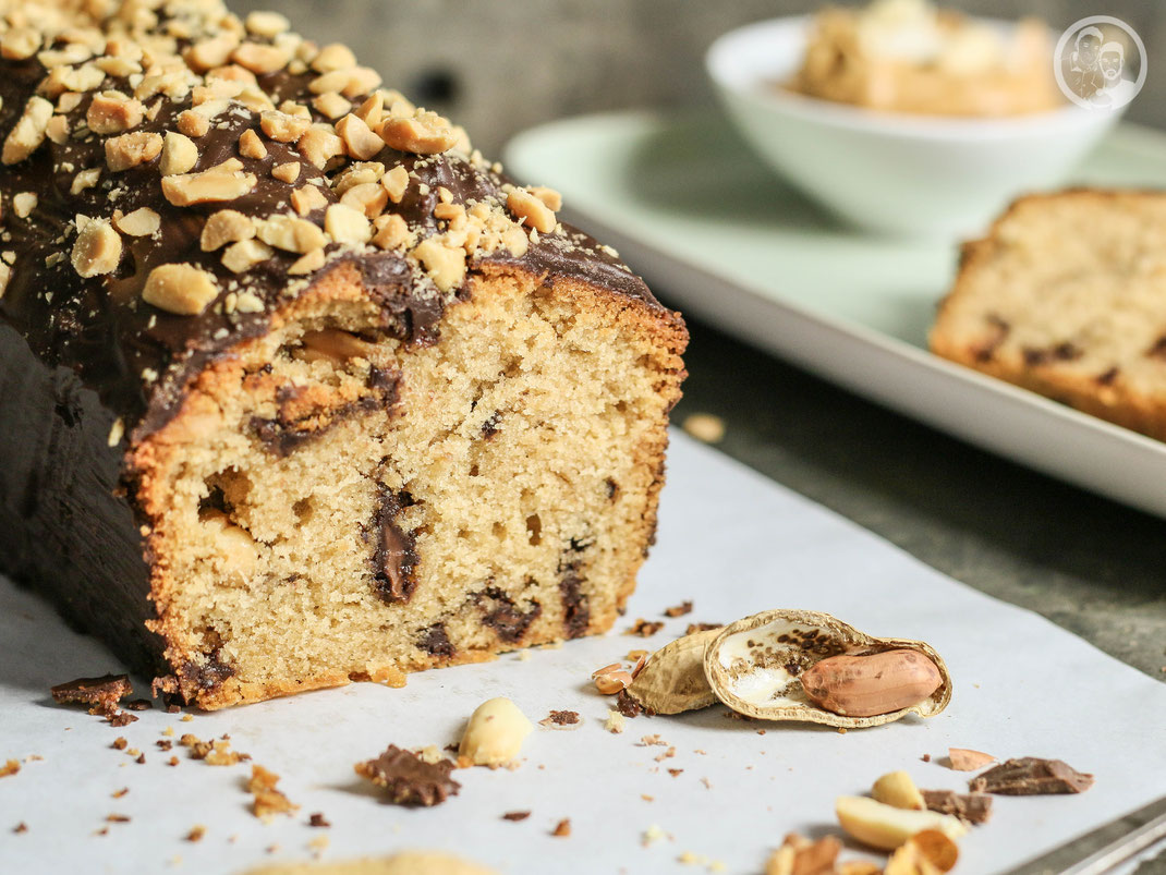 Erdnussbutter Kuchen Schokoladenkuchen Mit Erdnusskaramell