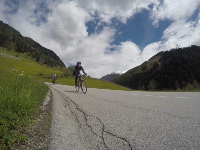 Rennrad-Einsteigerin