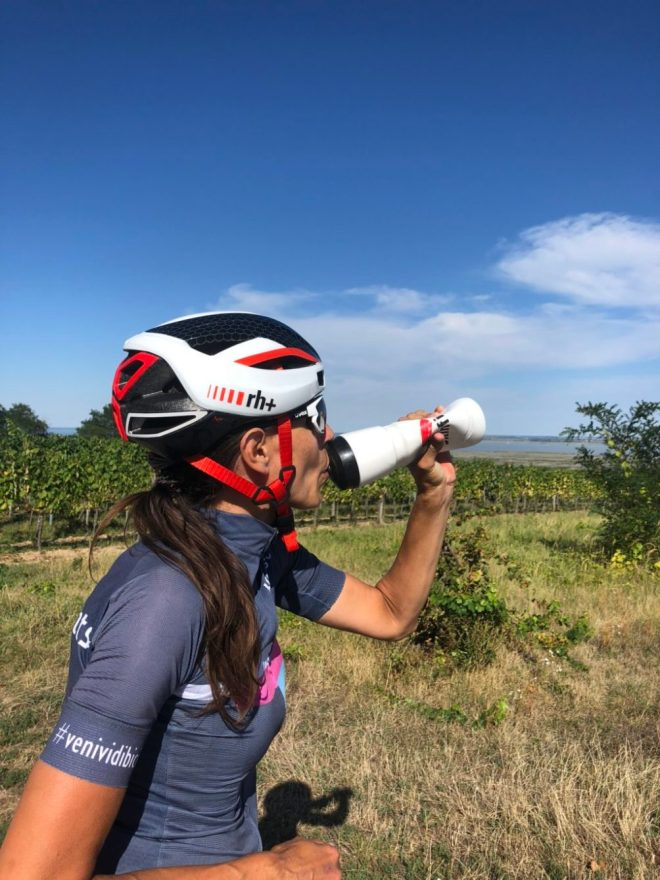 Bergfahren mit dem Rennrad