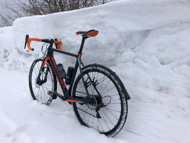 Ultracycling im Winter