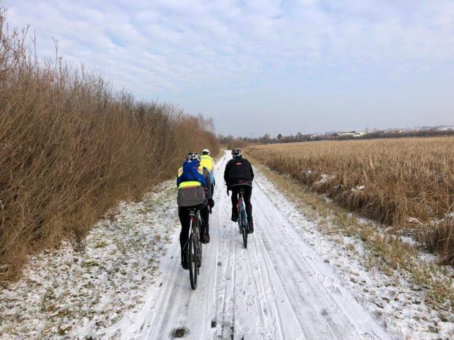 winterliche Rannradreise