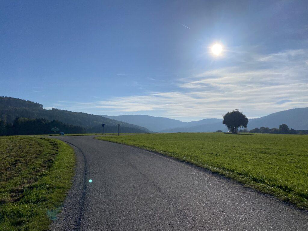 Rennradfahren im Attergau