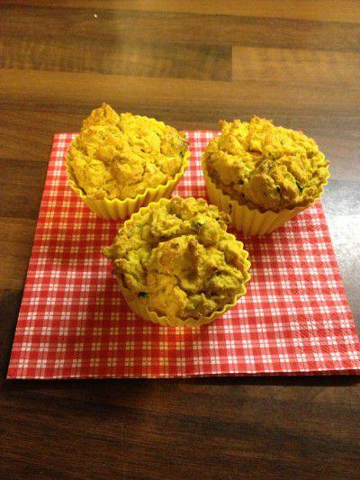 pikante Gemüse-Mais-Muffins die kleine botin