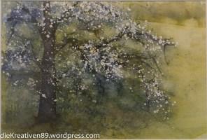 Margarete Wiegand - Blühender Baum