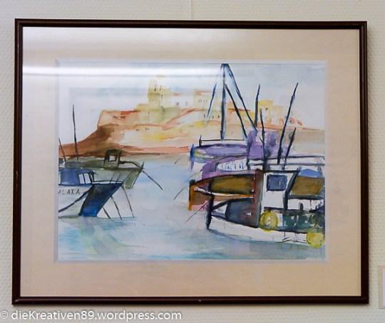Eva Neumann - Im Hafen von Ibiza