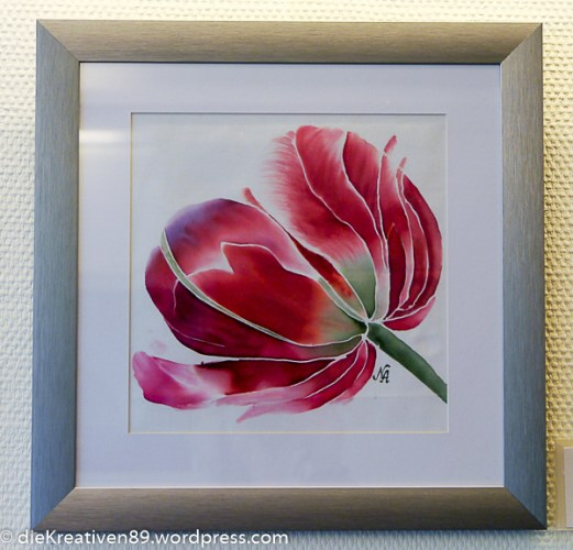Nurhayat Artunc - Rote Tulpe