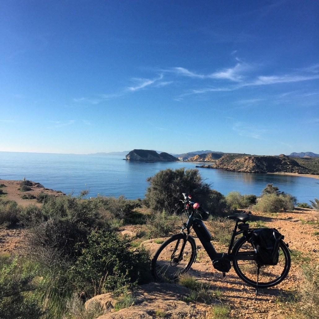 Fahrradtour bei Aguilas Süd-Spanien Mucia