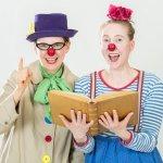Clownerss Glucks, Der Bücherschatz (© Frauke Wichmann)