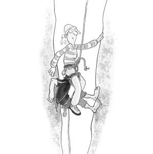 Programm Höhenangst, (Grafik von Axel Bierwolf)