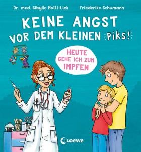 """Cover Impf-Buch """"Keine Angst vorm kleinen Piks"""""""