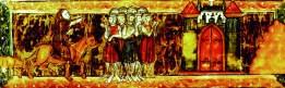 Peter der Eremit weist den Rittern den Weg nach Jerusalem
