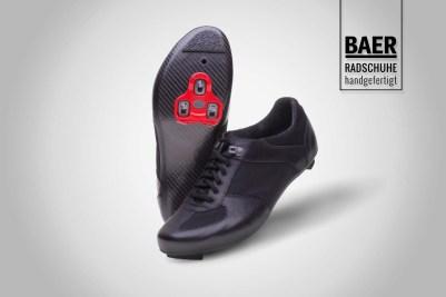 Sneaker 6 schwarz - Rennrad 1 Logo
