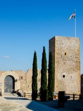Foto einer Burg in El Catllar.