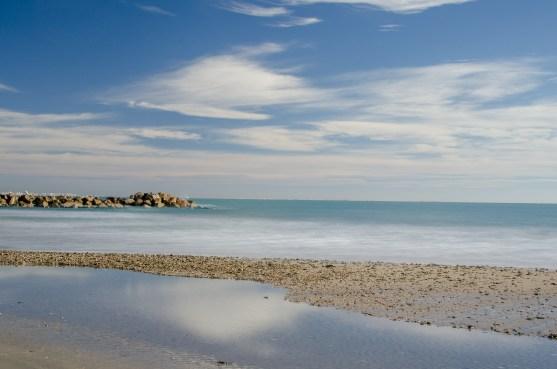 Foto vom Strand in Palavas-les-Flots.