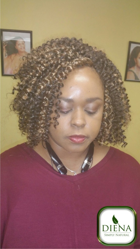 Crochet braids from Diena Simply Natural (DSN Braiding)