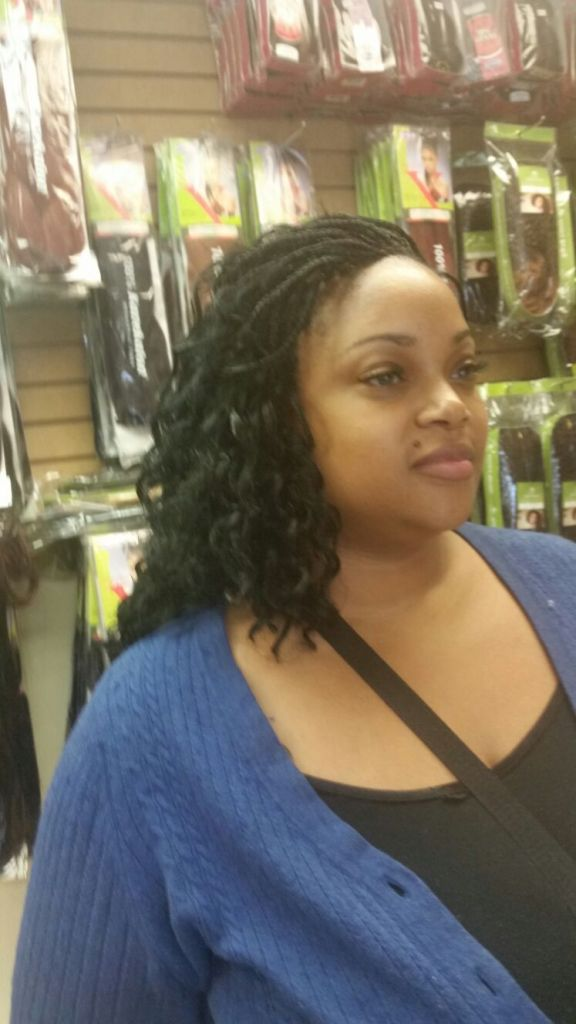 Micro Braids from Diena Simply Natural (DSN Braiding)