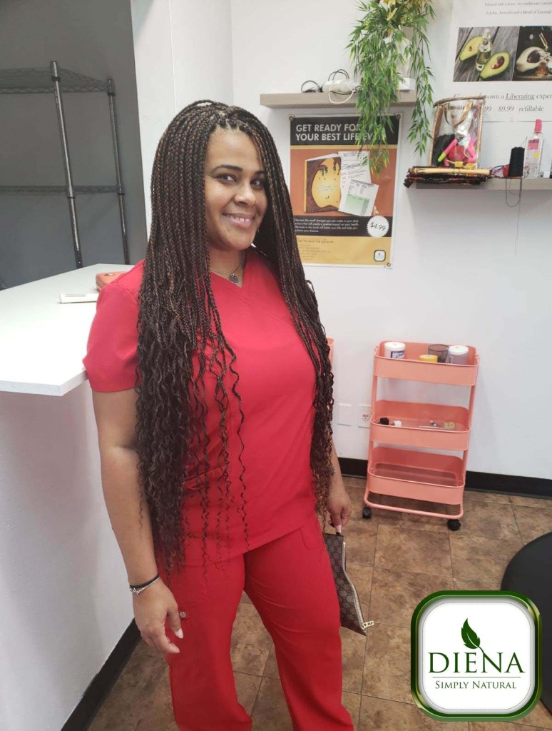 Long Box Braids - DSN Braiding - Diena Simply Natural