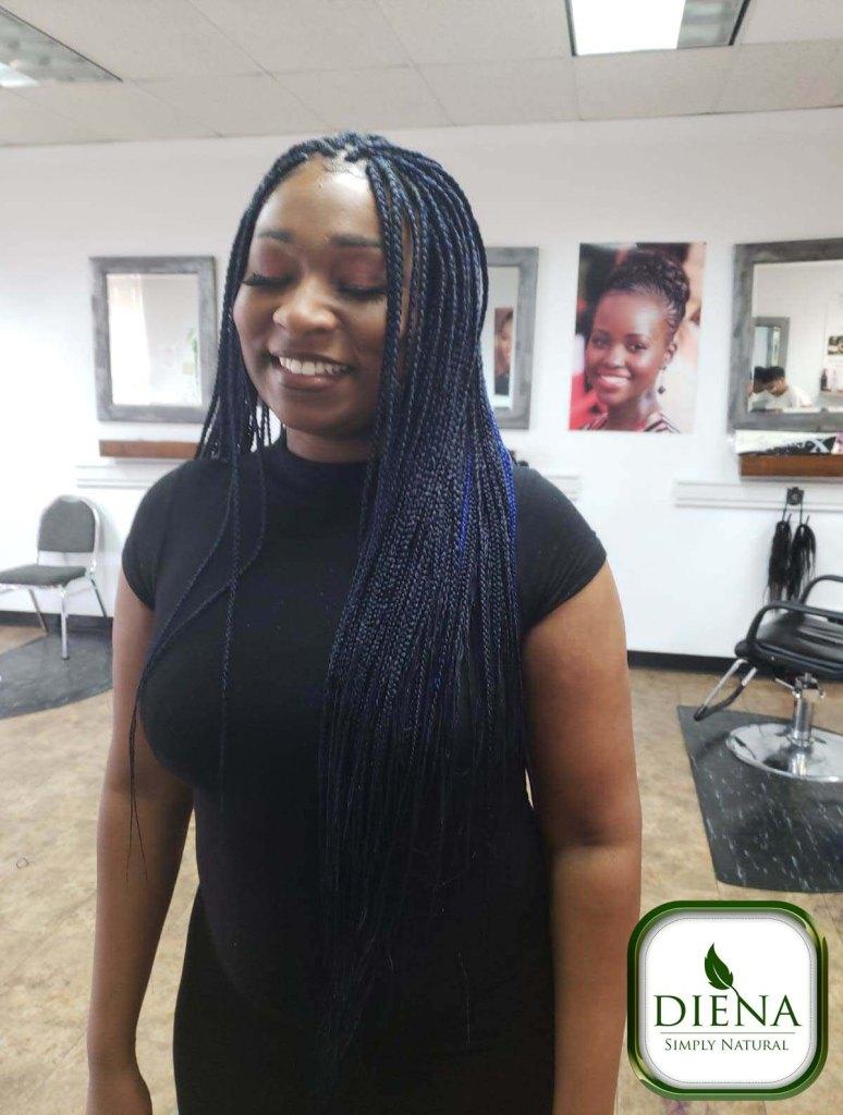 Long Senegalese Twist - DSN Braiding - Diena Simply Natural