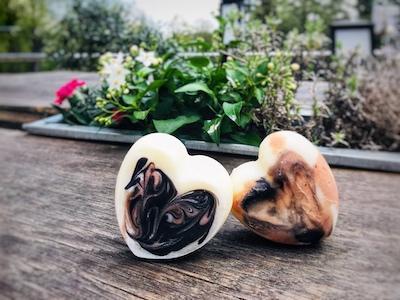 naturseife als Herz naturseife kaufen ohne Zusätze