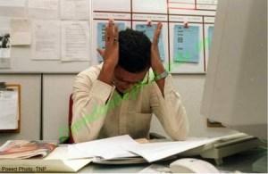 Giàm chóng mặt sau những giờ căng thẳng