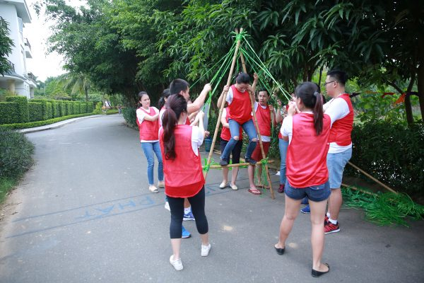 team building resort - ca kheo tam giac