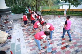 team building vận chuyển nước