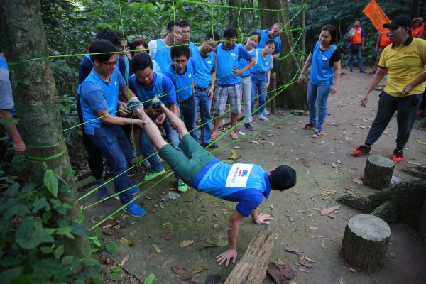 team building outdoor - mang nhen doc