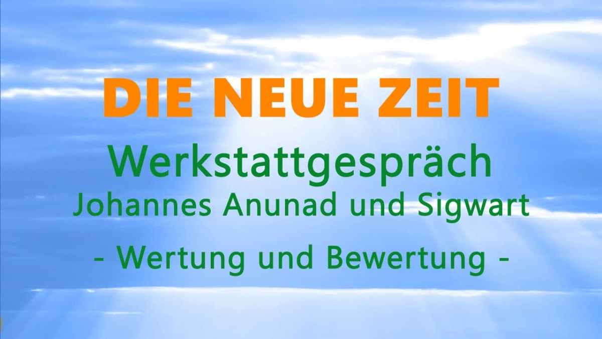 DNZ-Werkstattgespräch – mit Sigwart Zeidler: Wertung und Bewertung